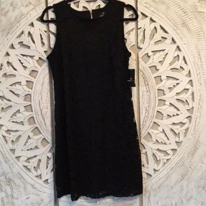Ronni Nicole Black lace dress. NWT
